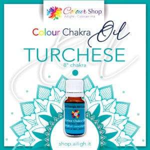 Colour chakra oil Turchese