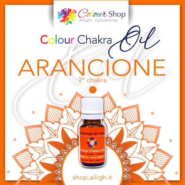 Colour chakra oil Arancione