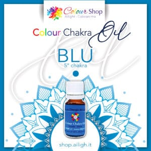 Colour chakra oil Blu