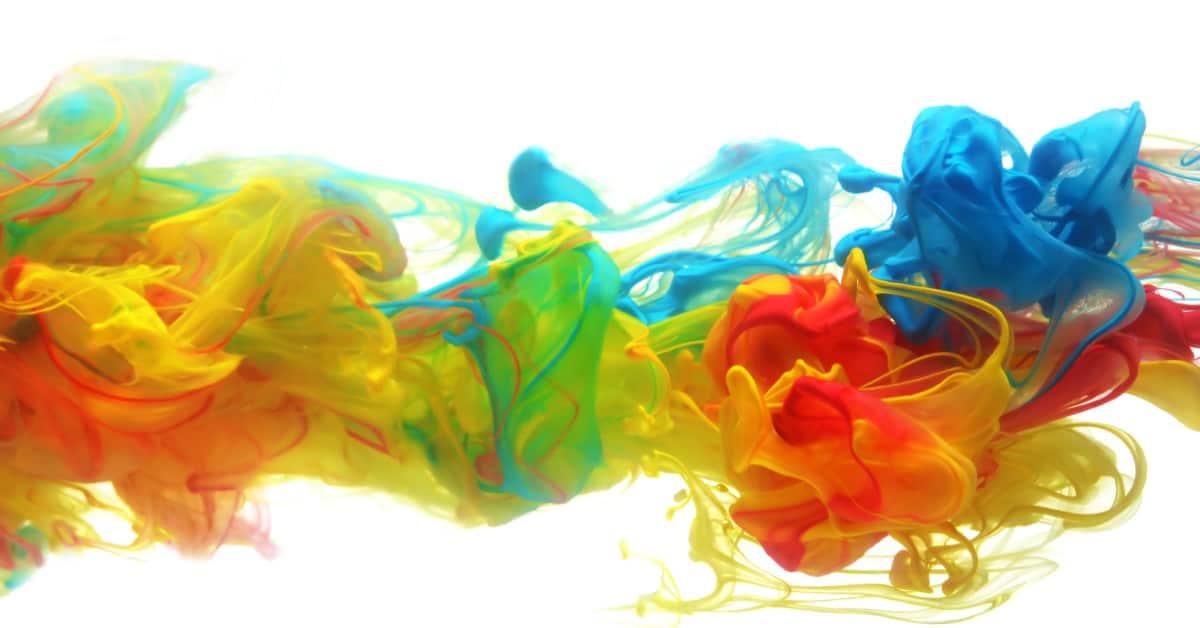 Colori in acqua