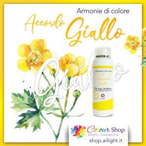 Accordo Giallo body oil