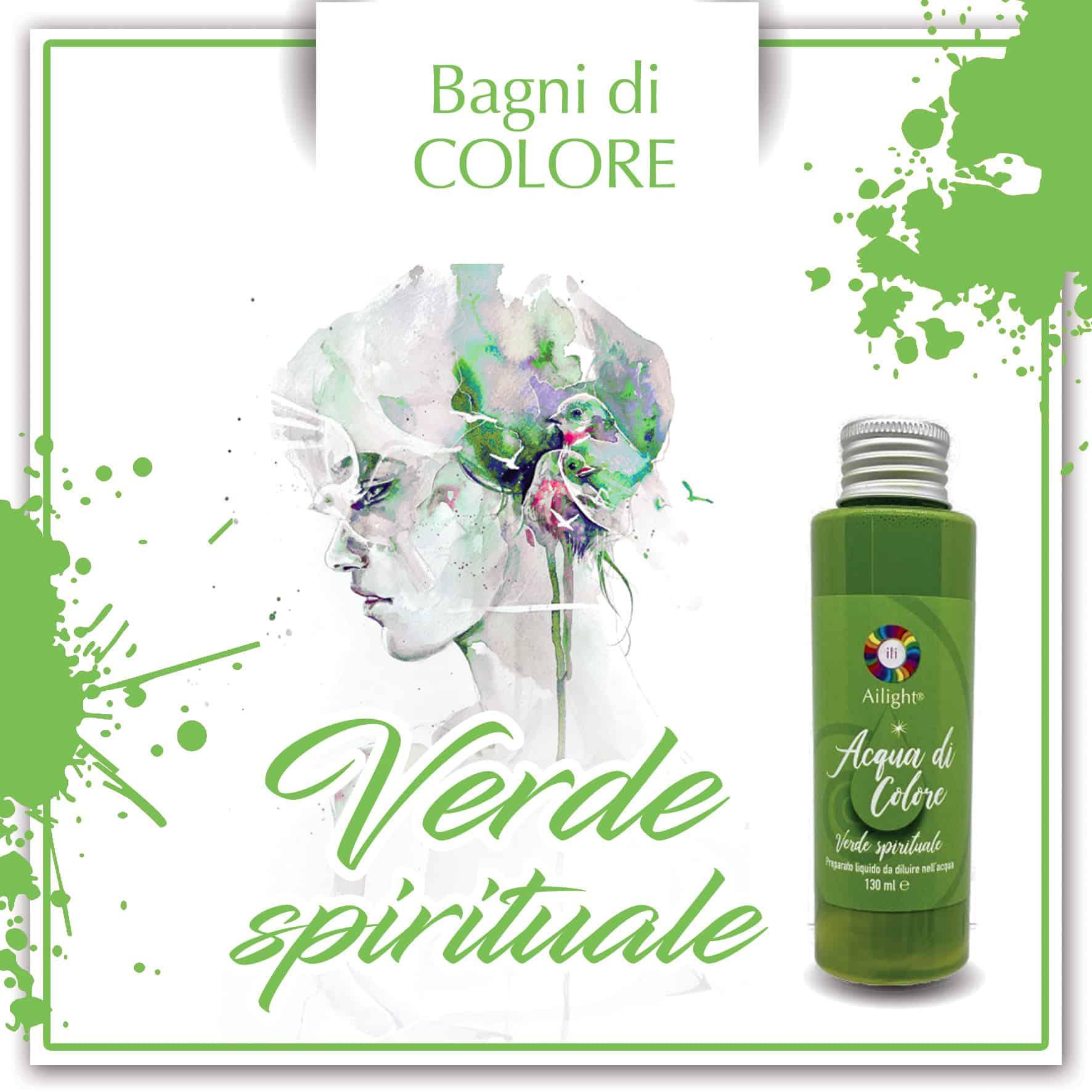 Green Spiritual Colour Bath