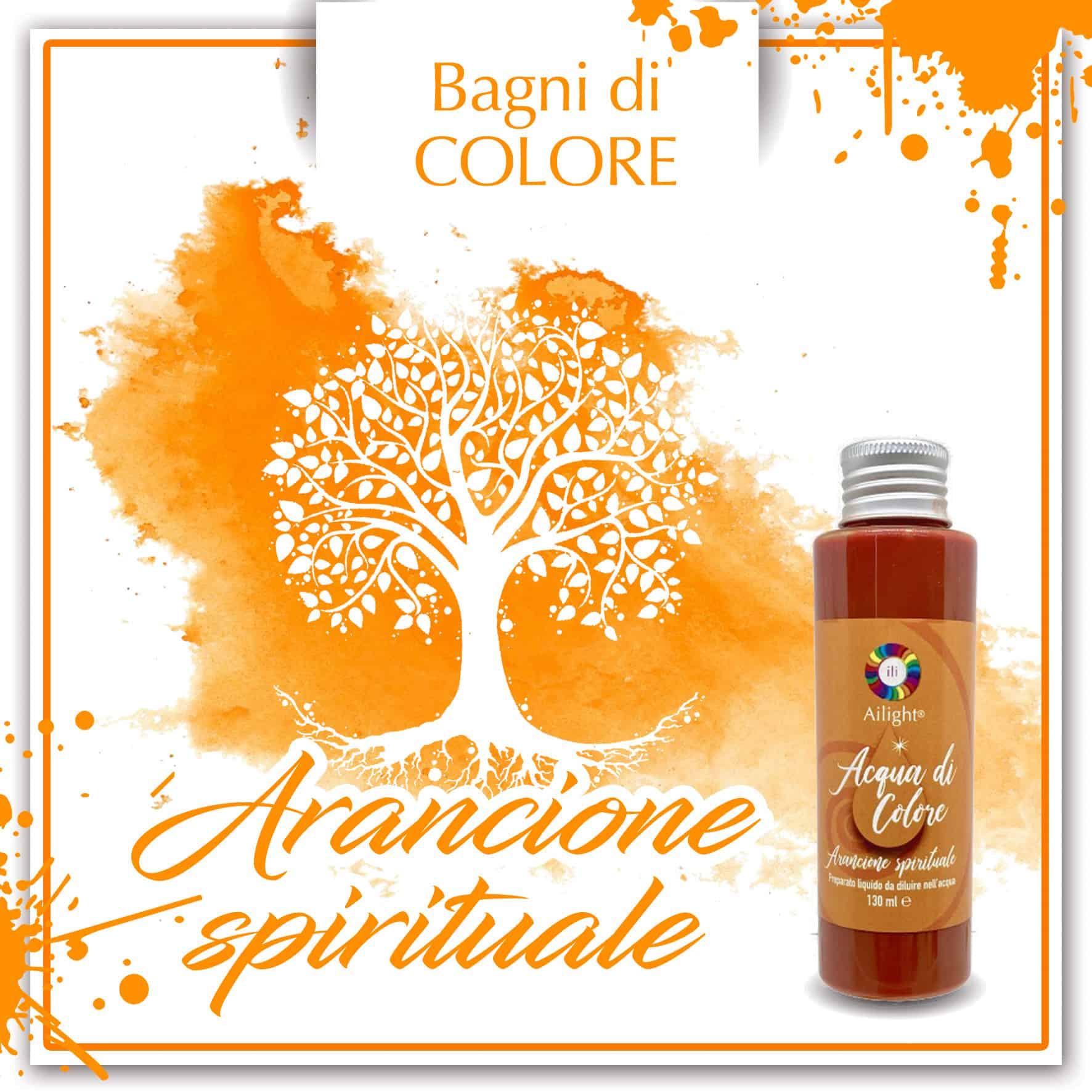 Colour Bath Orange Spiritual Water