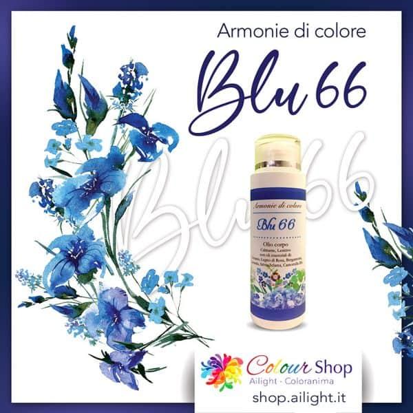 Accordo Blu 66 body oil