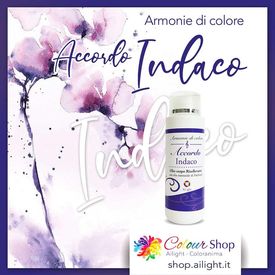 Accordo Indaco – Indigo energy body oil
