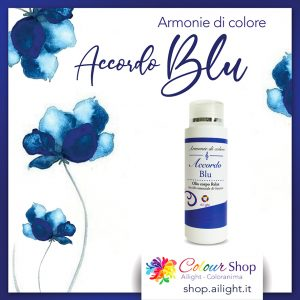 Olio corpo Accordo Blu