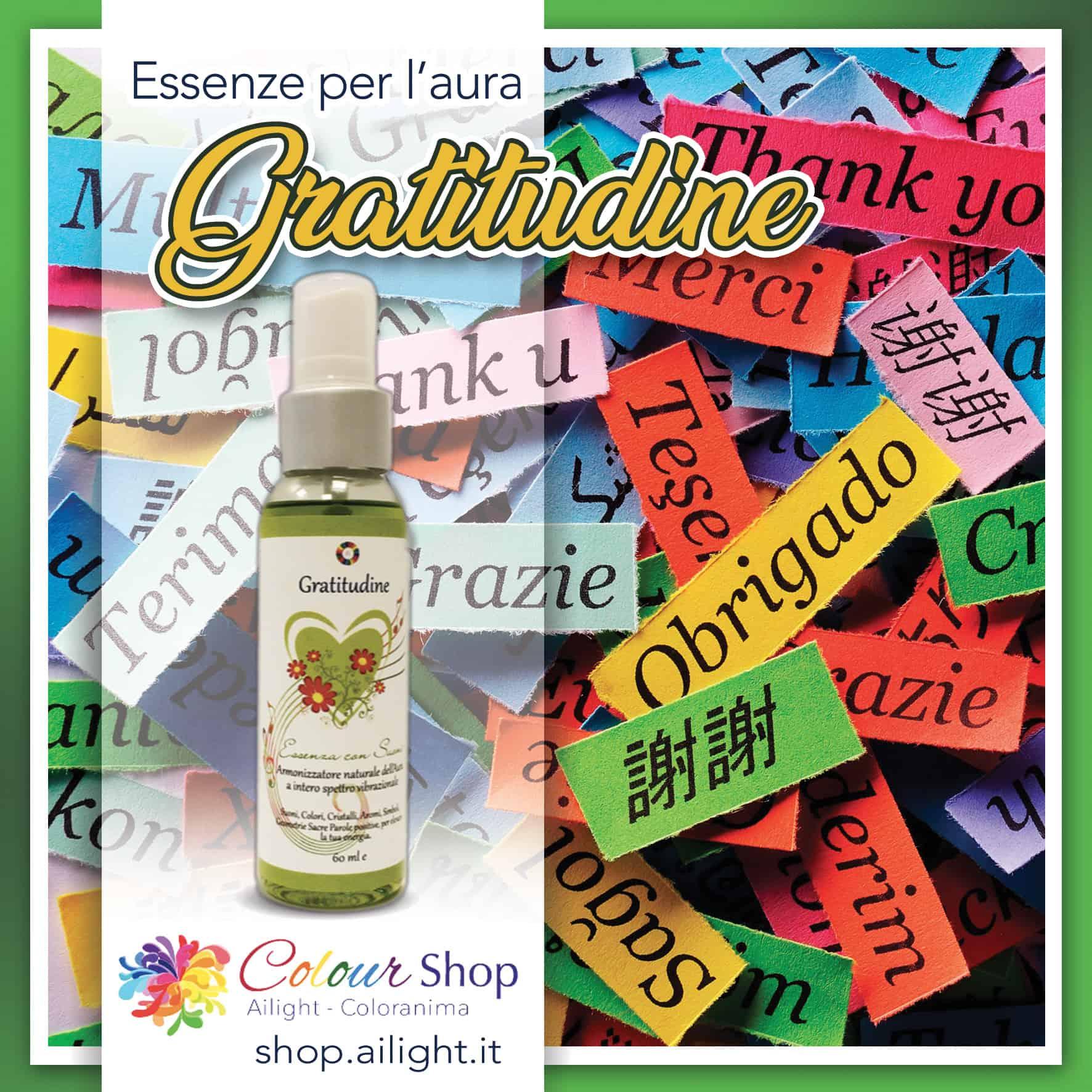 Gratitude – Gratitudine