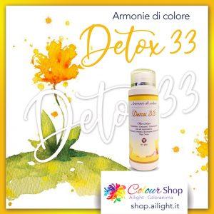 Olio corpo Accordo Detox 33