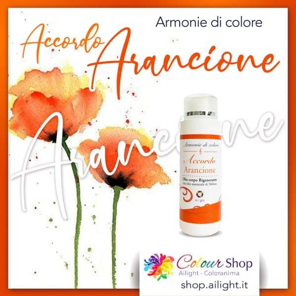 Accordo Arancione body oil