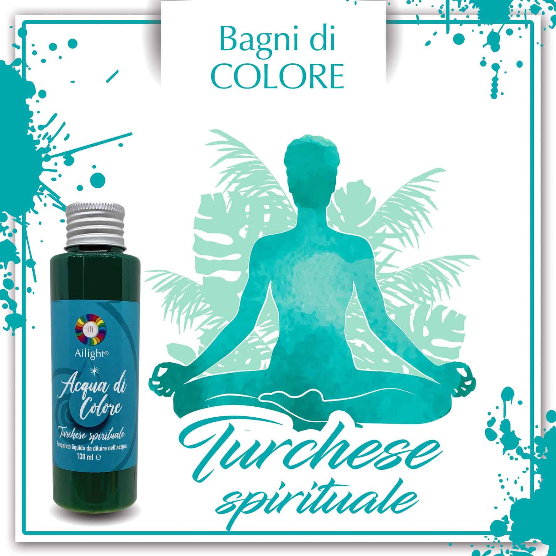 Turquoise Spiritual Colour Bath