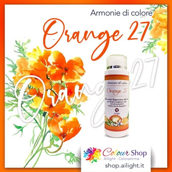 Orange 27 body oil