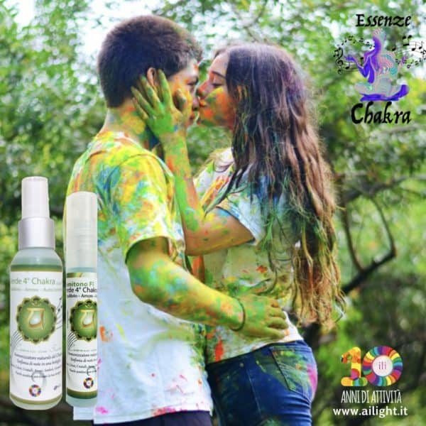 Green 4° Chakra essence with sounds