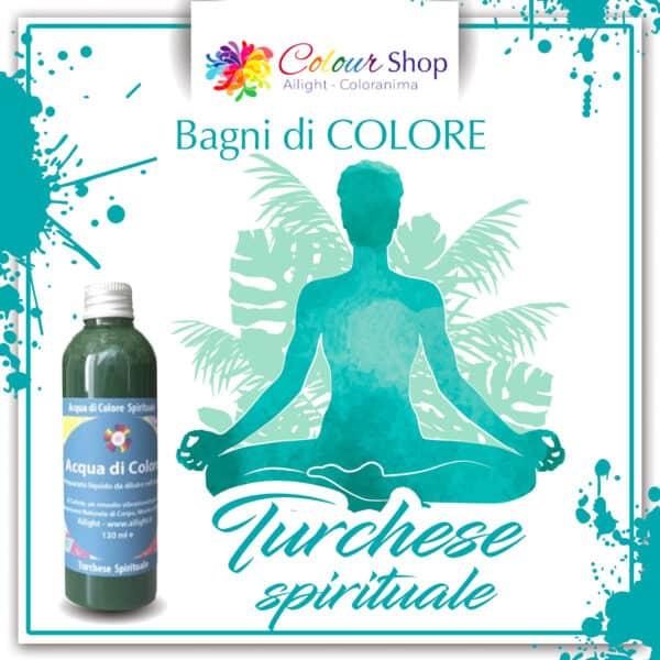 Bagno di colore Turchese spirituale