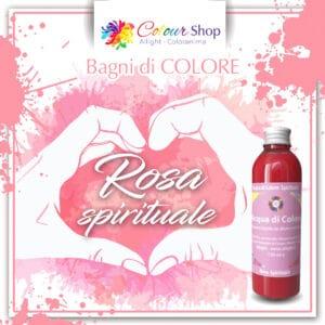 Bagno di colore Rosa spirituale