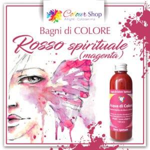 Spiritual red colour bath