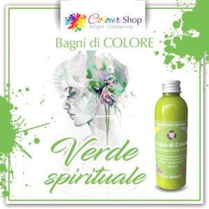 Bagno di colore Verde spirituale