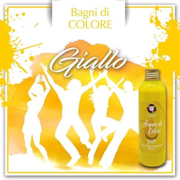 acqua di colore giallo shop.ailight.it