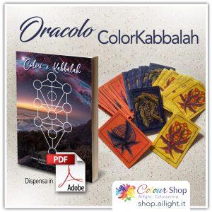 Carte oracolo e libro Colori e Kabbalah